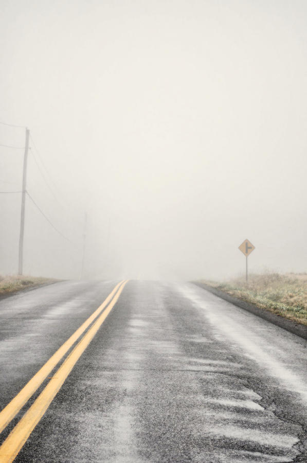 Road Photograph - Road Ends by Emily Stauring