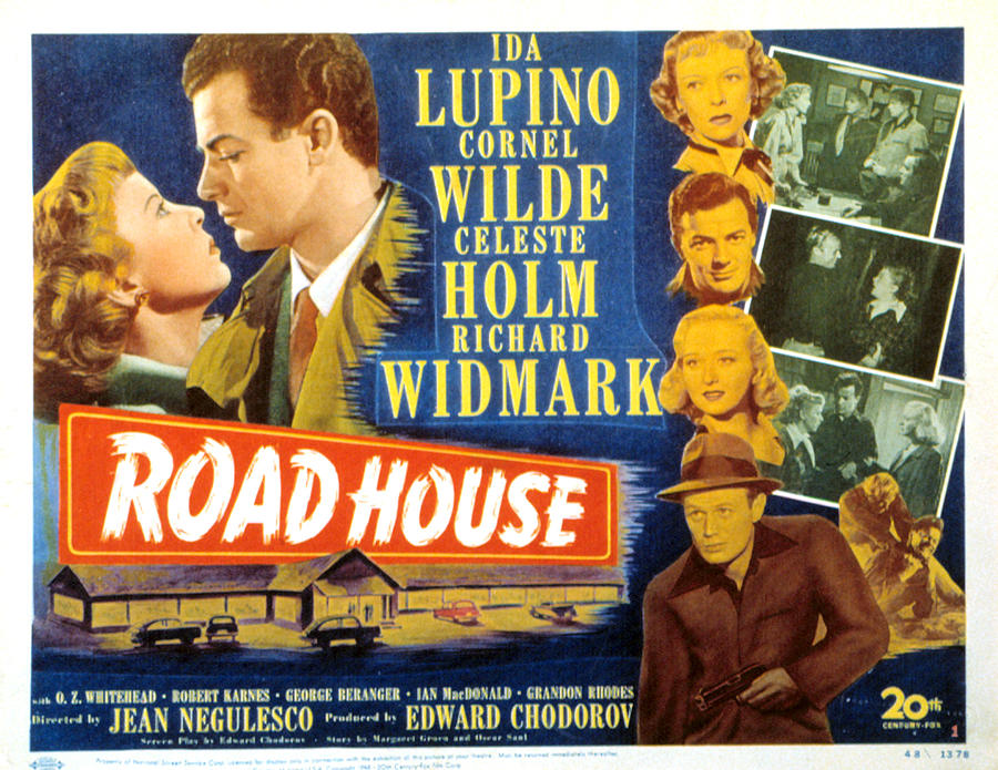 1940s Movies Photograph - Road House, Ida Lupino, Richard by Everett