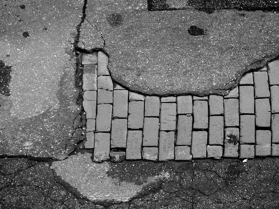 Road Textures Photograph - Road Textures by Mike McGlothlen