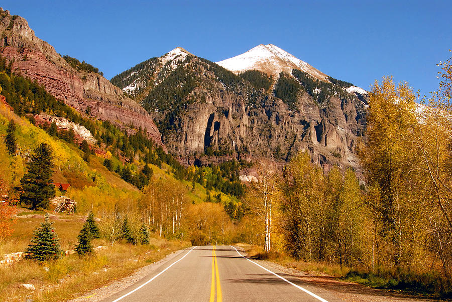 Landscape Photograph - Road To Adventure by David Lee Thompson