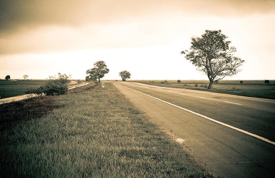 Landscape Photograph - Road To Freedom by Klik Kreatif