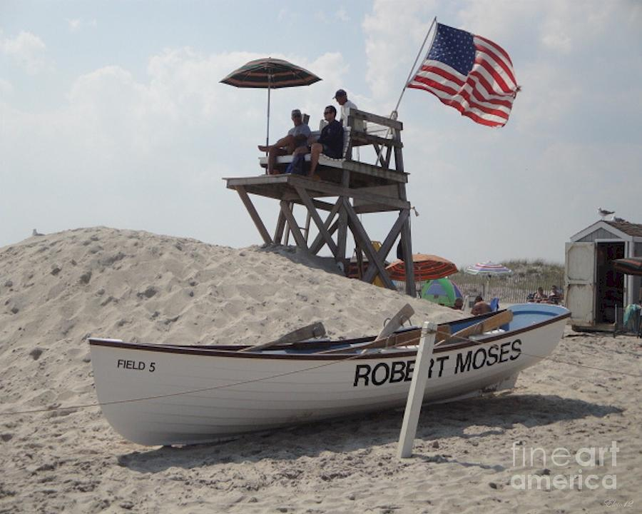 Robert Moses Beach Fire Island Ny Photograph By Laurence Oliver