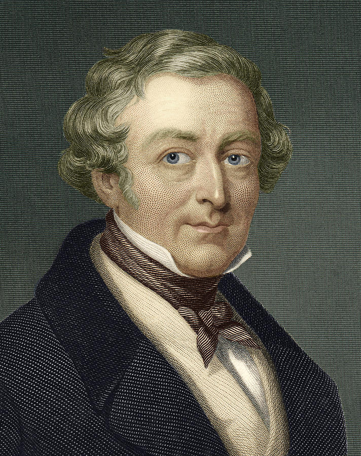 Robert Peel Photograph - Robert Peel, British Prime Minister by Sheila Terry