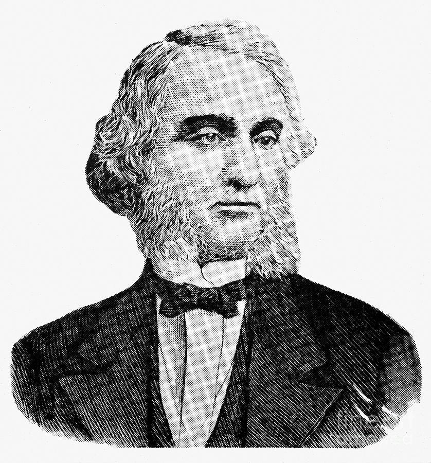 19th Century Photograph - Robert Purvis (1810-1898) by Granger
