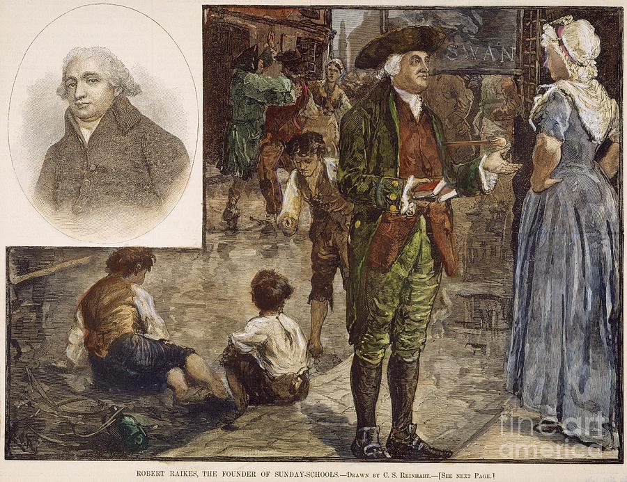 1780 Photograph - Robert Raikes (1735-1811) by Granger