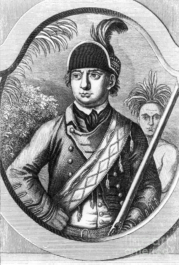 History Photograph - Robert Rogers, Colonial American by Photo Researchers