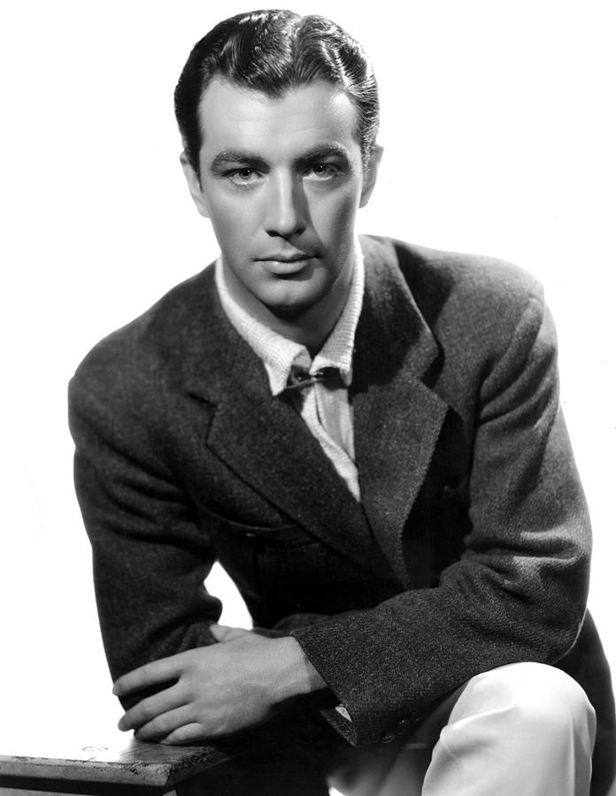 1930s Fashion Photograph - Robert Taylor, Photo Dated 05-14-1935 by Everett