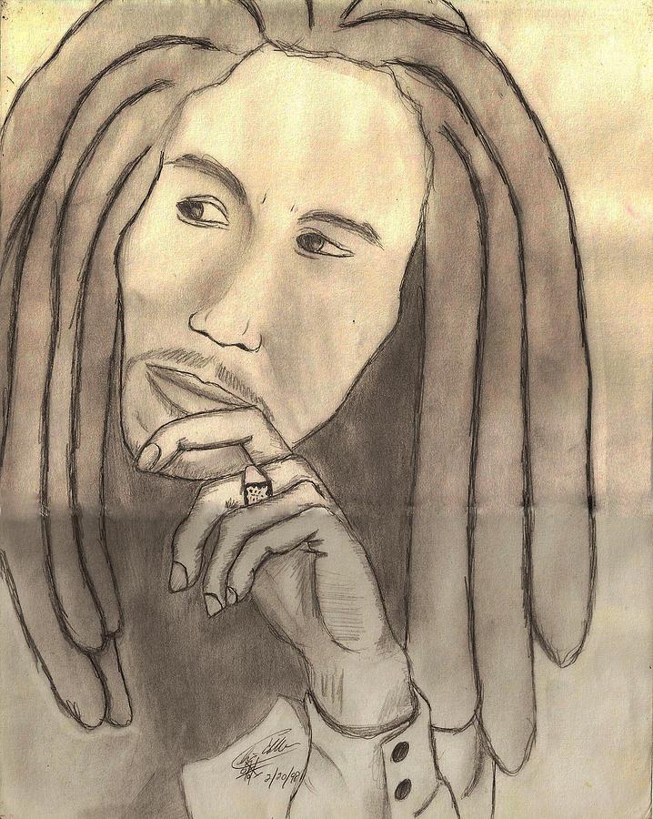 Robert The Legend Drawing