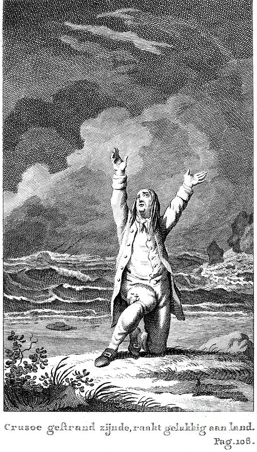18th Century Photograph - Robinson Crusoe by Granger