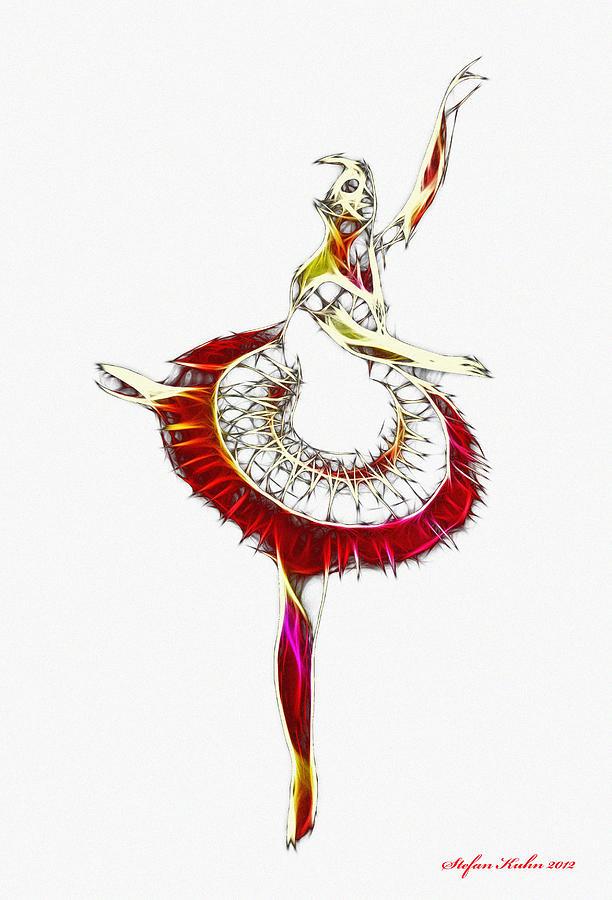Robot Ballerina Digital Art by Steve K