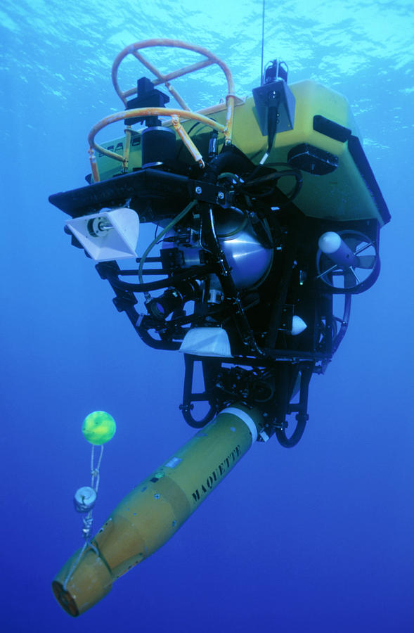Submarine Photograph - Robot Submarine by Alexis Rosenfeld