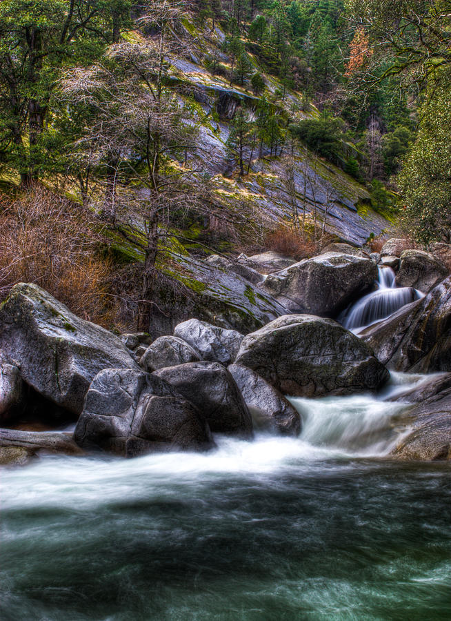 Rock Creek Photograph - Rock Creek by Ren Alber