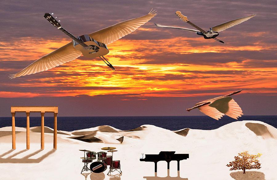 Rock Harmony Mixed Media - Rock Harmony by Eric Kempson