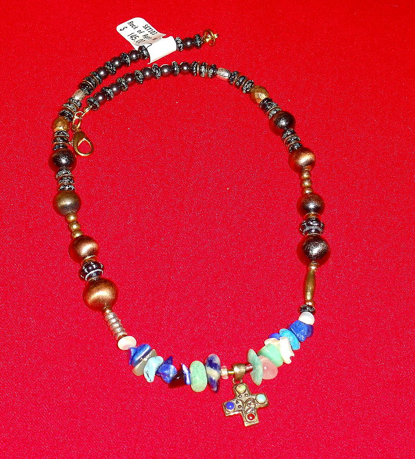 Beads Jewelry - Rock Of Ages by Whitey Martin