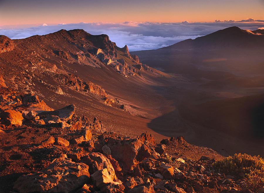 Rock Of Haleakala Crater Haleakala Photograph by Tim Fitzharris