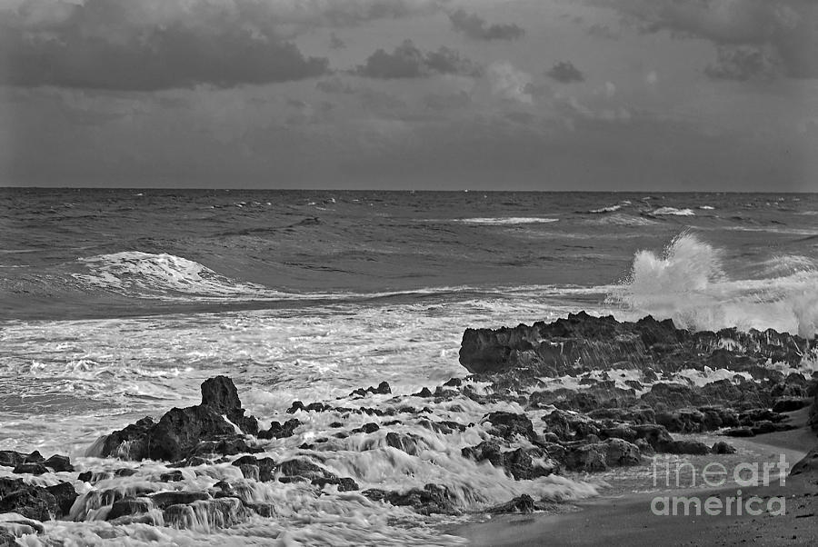 Black & White Photography Photograph - Rock Reef by Richard Nickson