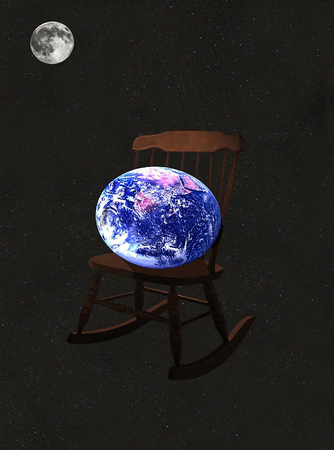 World Mixed Media - Rock The World by Eric Kempson