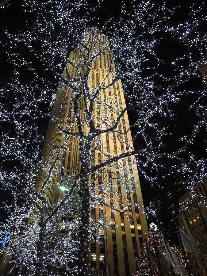 Rockefeller Photograph - Rockefeller Center Christmas by David Halperin