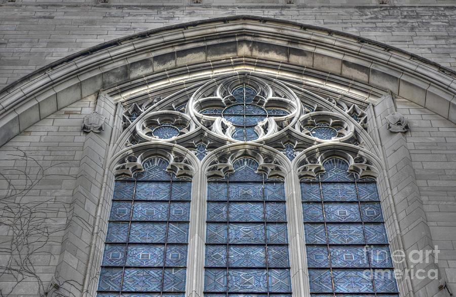 Window Photograph - Rockefeller Chapel by David Bearden