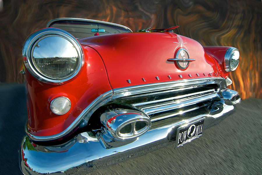 Oldsmobile Photograph - Rocket Fire by Paul Barkevich