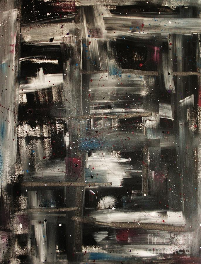 Abstract Painting - Rockin In A Free World by Jessie Art