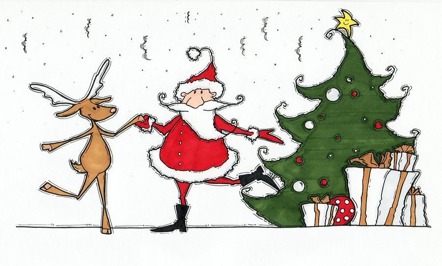 Rockin Around The Christmas Tree.Rocking Around The Christmas Tree