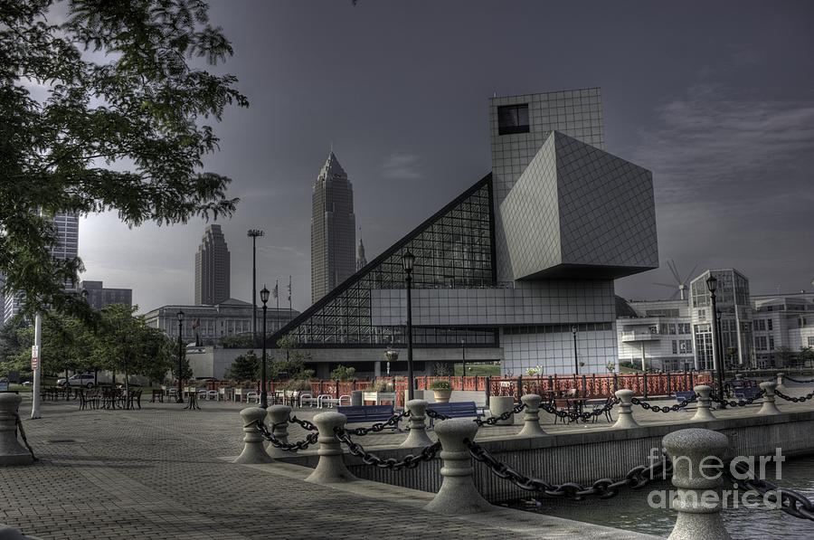 Hdr Photograph - Rocking Hall Of Fame by David Bearden