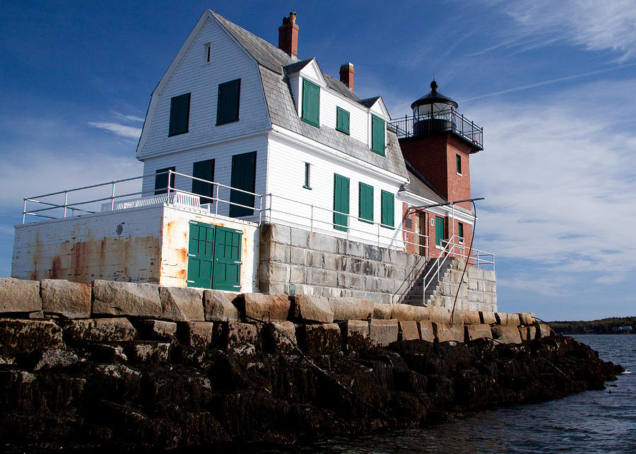 Rockland Breakwater Lighthouse by Frank Pietlock