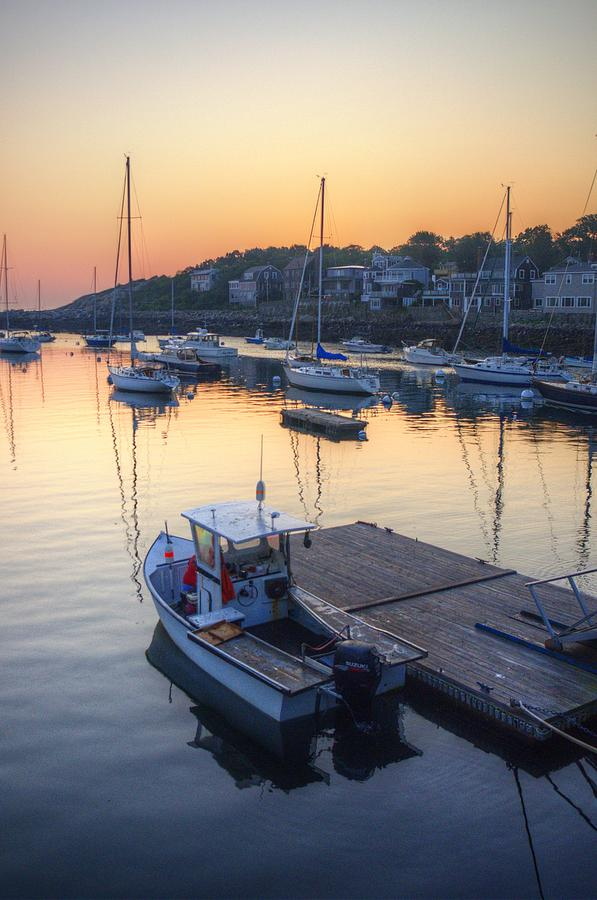 Dawn Photograph - Rockport Dawn by Matthew Green