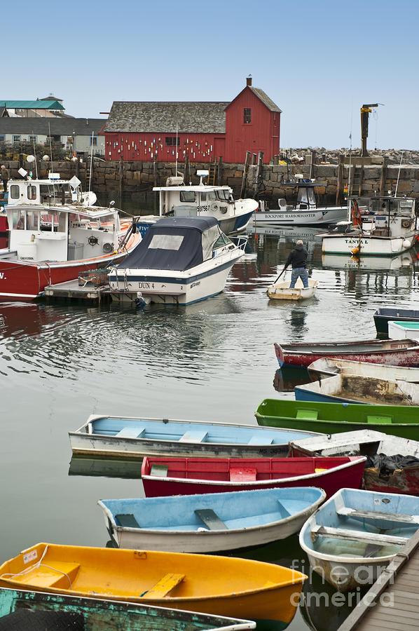 Massachusettes Photograph - Rockport Harbor by John Greim
