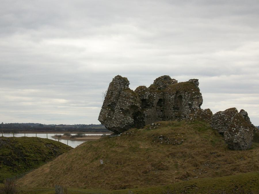 Landscape Photograph - Rocks And Ruins by Darcey James