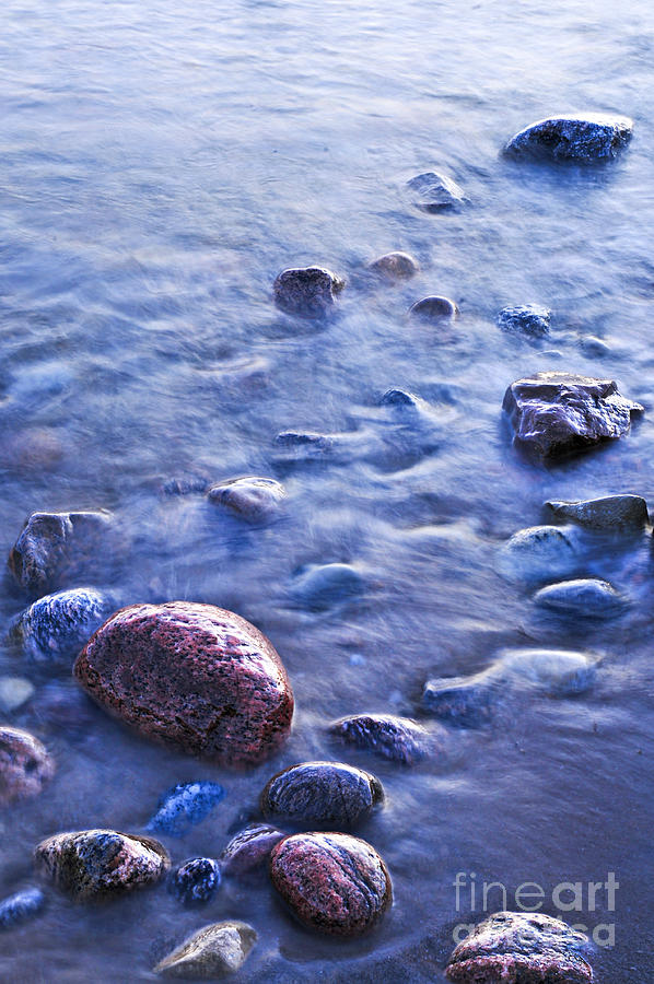 Rocks In Water Photograph By Elena Elisseeva