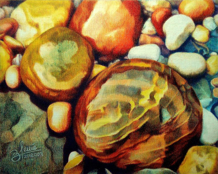 Colored Pencil Drawing - Rocksody In Dm by Bleuie  Acosta
