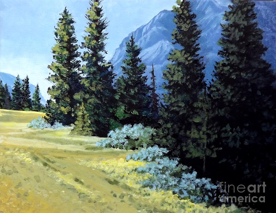 Rocky Mountain Meadow by Diane Ellingham