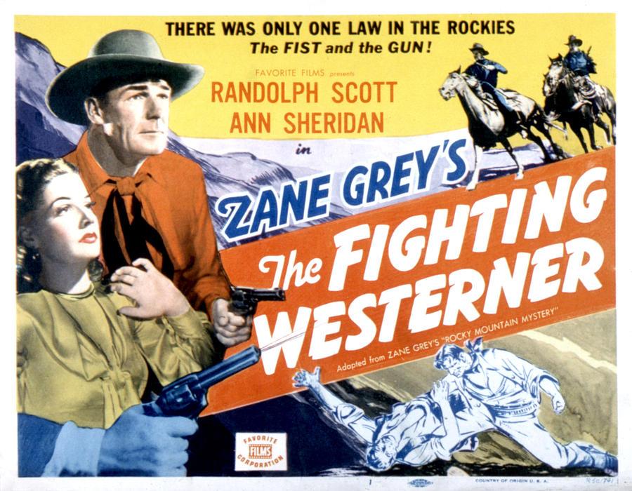 1930s Movies Photograph - Rocky Mountain Mystery Aka, The by Everett