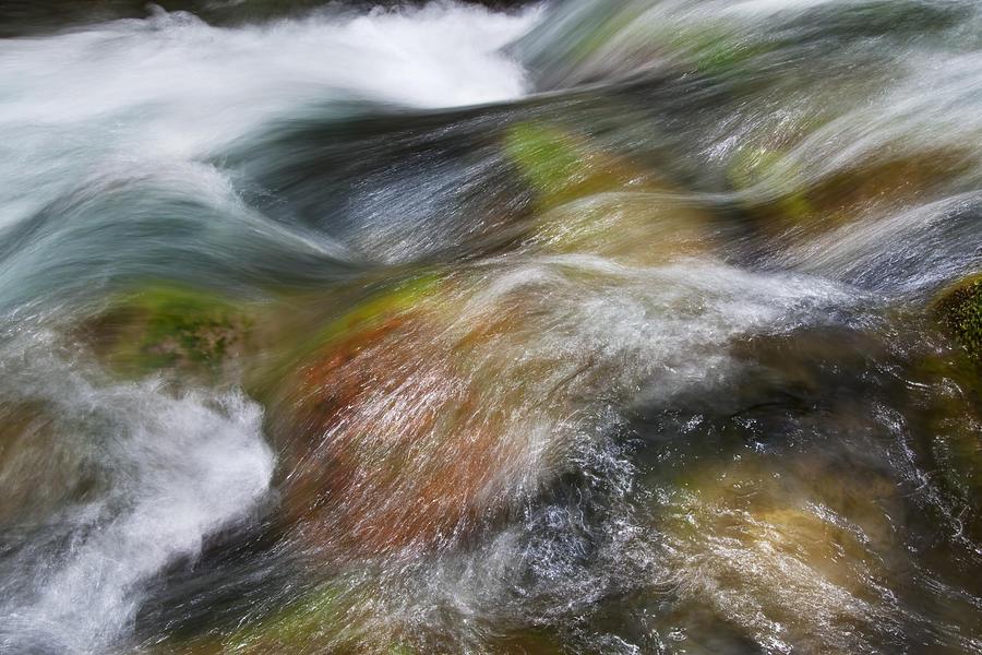 Beautiful Photograph - Rocky Riverbed by Jenna Szerlag