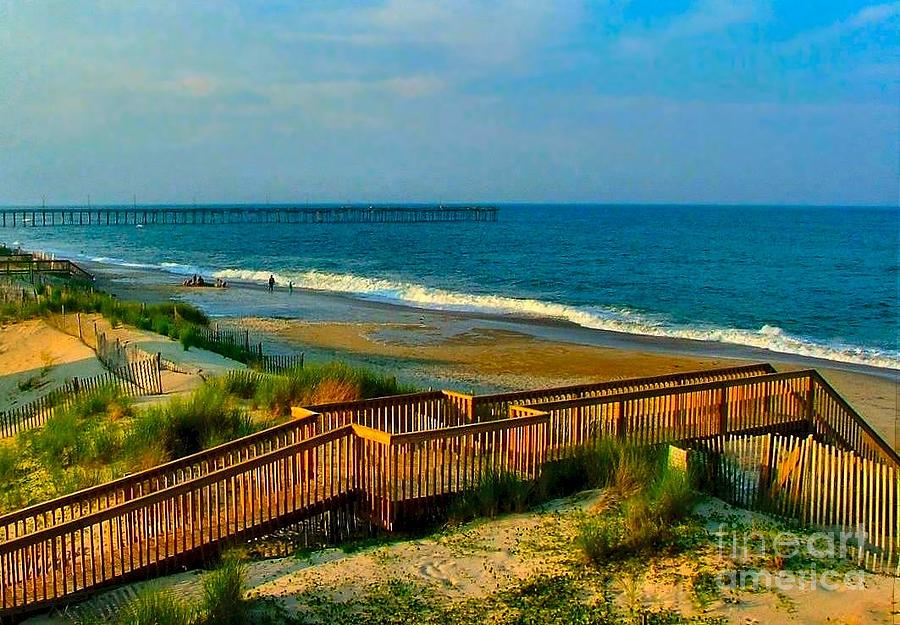 Rodanthe On The Outer Banks Photograph by Julie Dant
