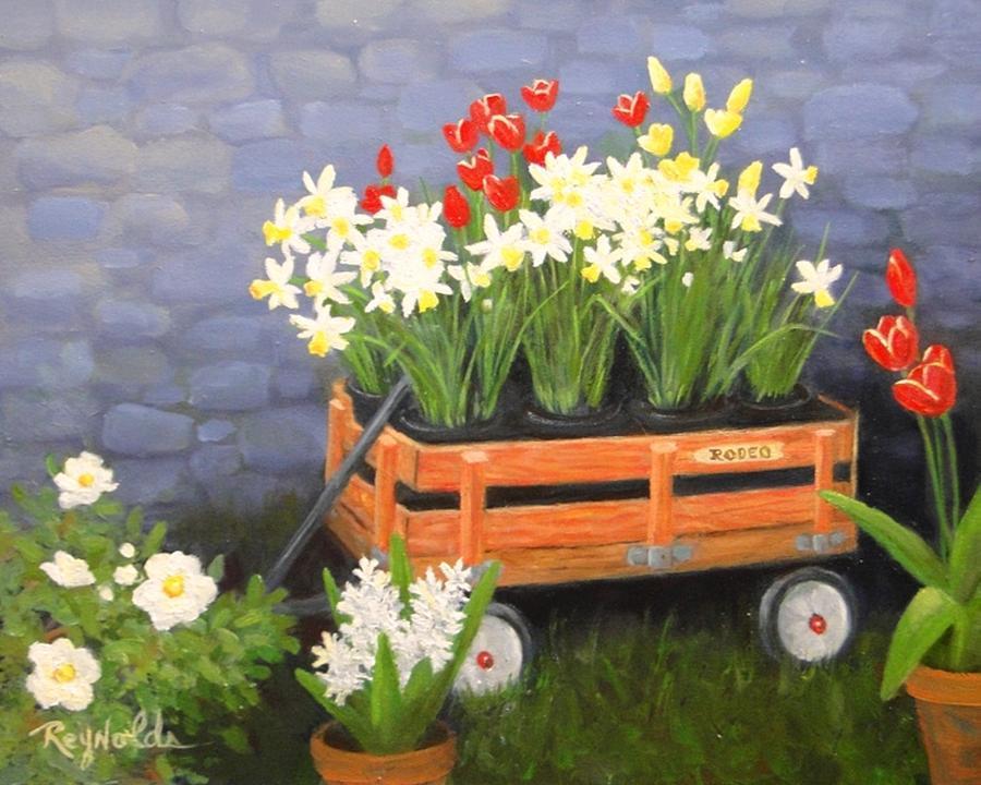 Rodeo Wagon by Carol Reynolds
