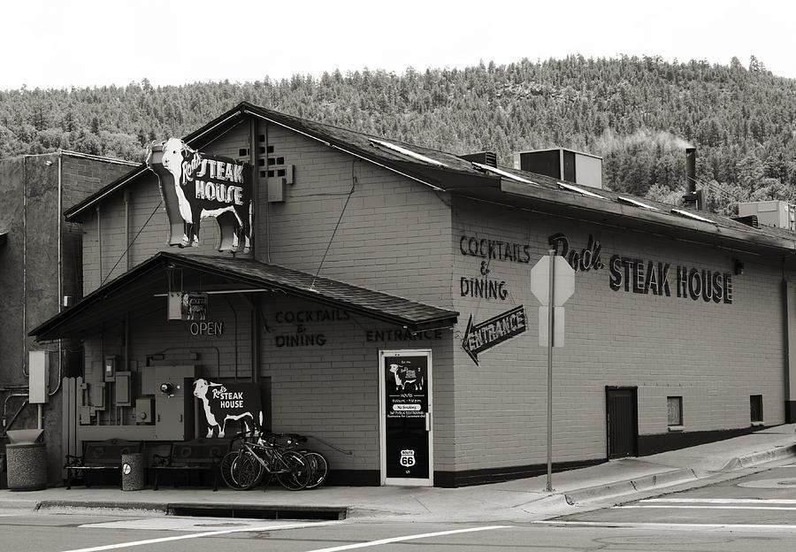 Rod Photograph - Rods Steak House by Ricky Barnard