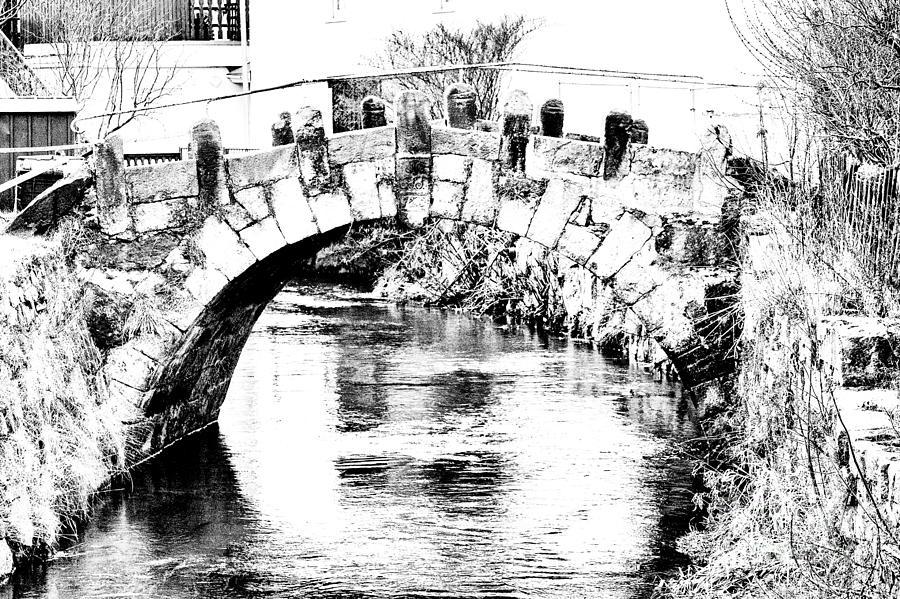 Black White Photograph - Roeder Bridge by Bodo Herold