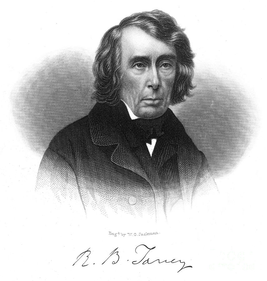 19th Century Photograph - Roger B. Taney (1777-1864) by Granger