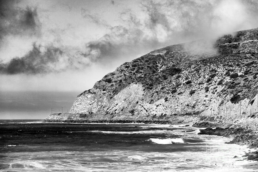 Pacific Coast Highway Photograph - Rolling In by John Rizzuto