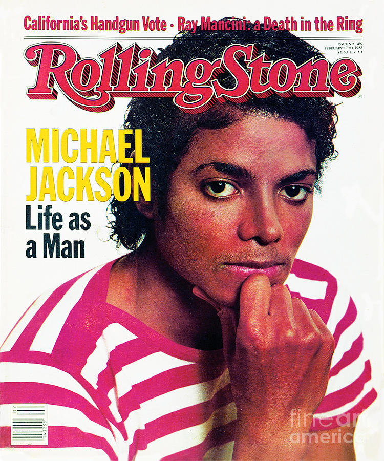 Michael Jackson Photograph - Rolling Stone Cover - Volume #389 - 2/17/1983 - Michael Jackson by Bonnie Schiffman