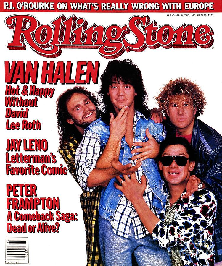 Van Halen Photograph - Rolling Stone Cover - Volume #477 - 7/3/1986 - Van Halen by Deborah Feingold