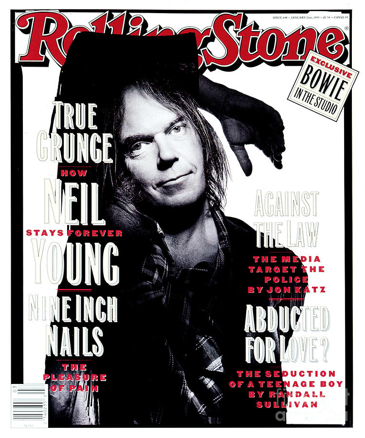 Neil Young Photograph - Rolling Stone Cover - Volume #648 - 1/21/1993 - Neil Young  by Mark Seliger