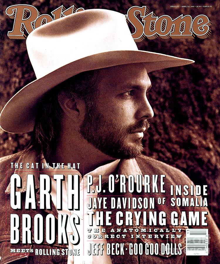 Garth Brooks Photograph - Rolling Stone Cover - Volume #653 - 4/1/1993 - Garth Brooks by Kurt Markus