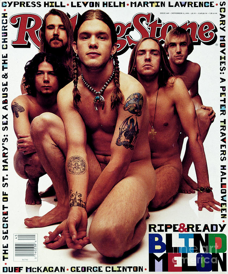Rolling Stone Photograph - Rolling Stone Cover - Volume #669 - 11/11/1993 - Blind Melon by Mark Seliger