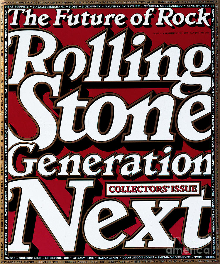 Rolling Stone Cover - Volume #695 - 11/16/1994 - Generation Next by Eric  Siry
