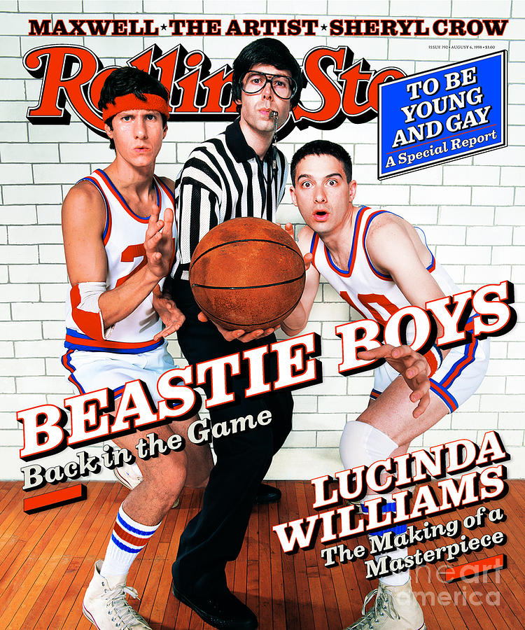 Beastie Boys Photograph - Rolling Stone Cover - Volume #792 - 8/6/1998 - Beastie Boys by Mark Seliger