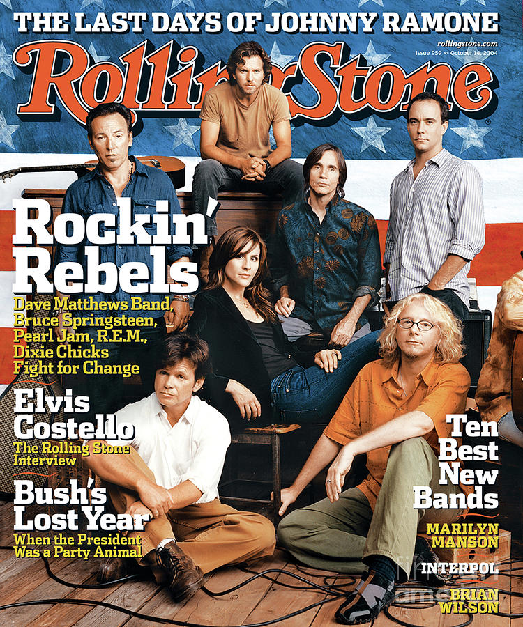 Rolling Stone Photograph - Rolling Stone Cover - Volume #959 - 10/14/2004 - Voices For Change by Norman Jean Roy